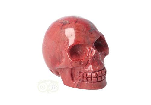 Rode Jaspis schedel Nr 7