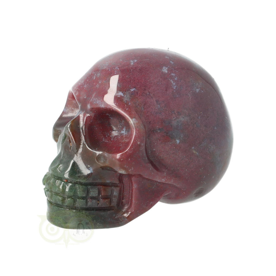Agaat Indian schedel Nr 11 - 91 gram-5