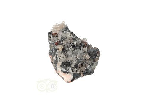 Cerussiet op Bariet cluster Nr 44