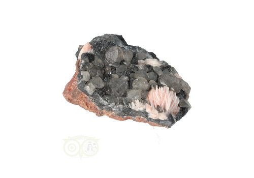 Cerussiet op Bariet cluster Nr 47