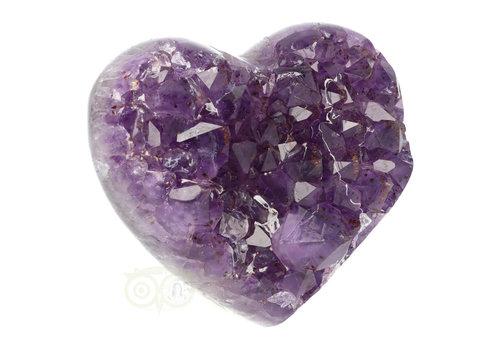 Amethist hart XL Nr 8