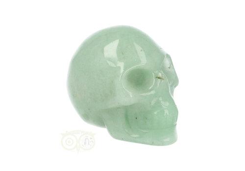 Aventurijn schedel Nr 14