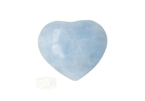 Blauwe Calciet hart ± 3 cm Nr 25
