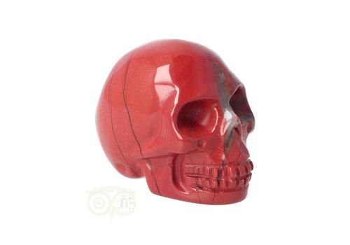 Rode Jaspis schedel Nr 9