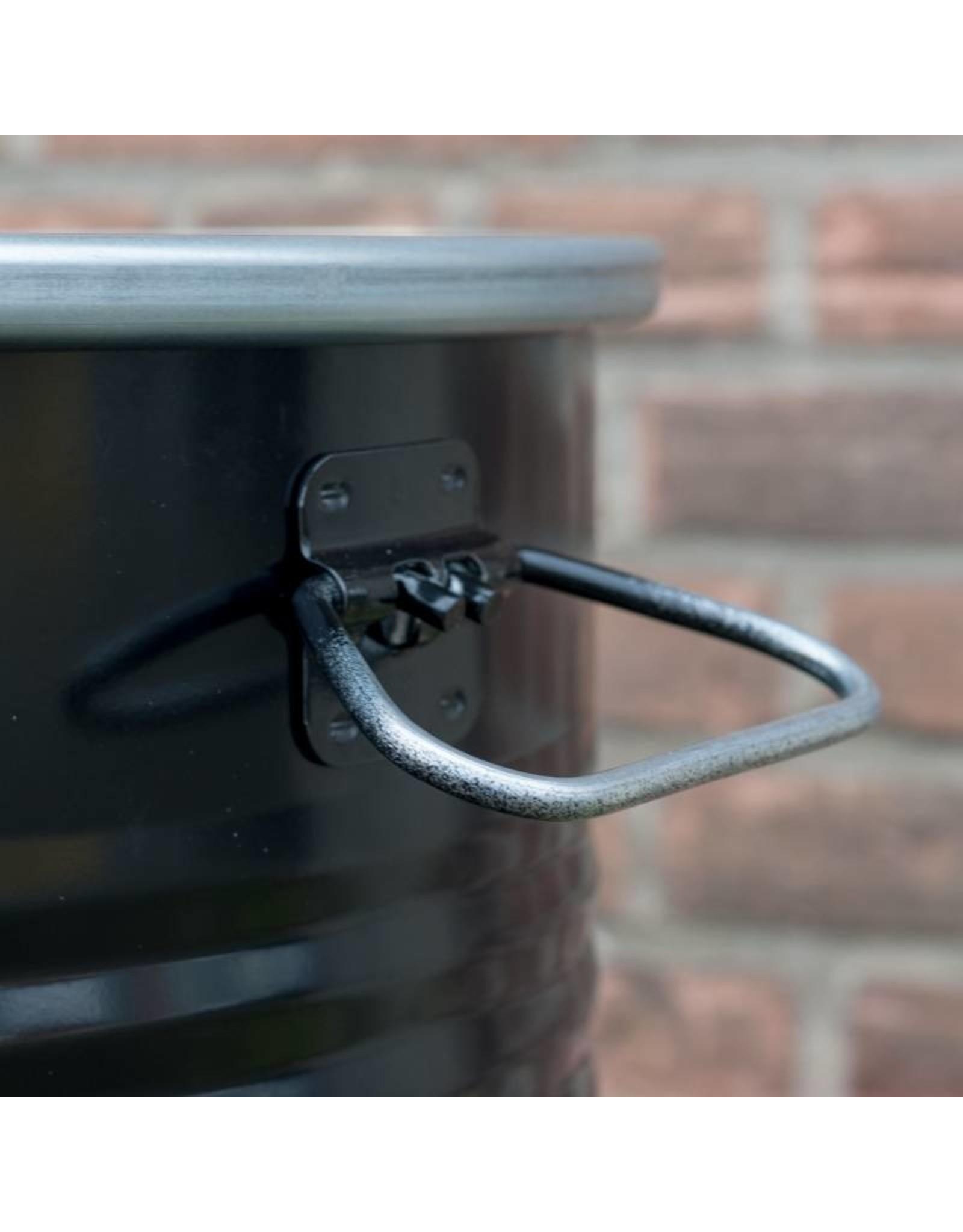 BarrelQ BarrelQ Small Holzkohlegrill- Feuerstelle und Tischplatte
