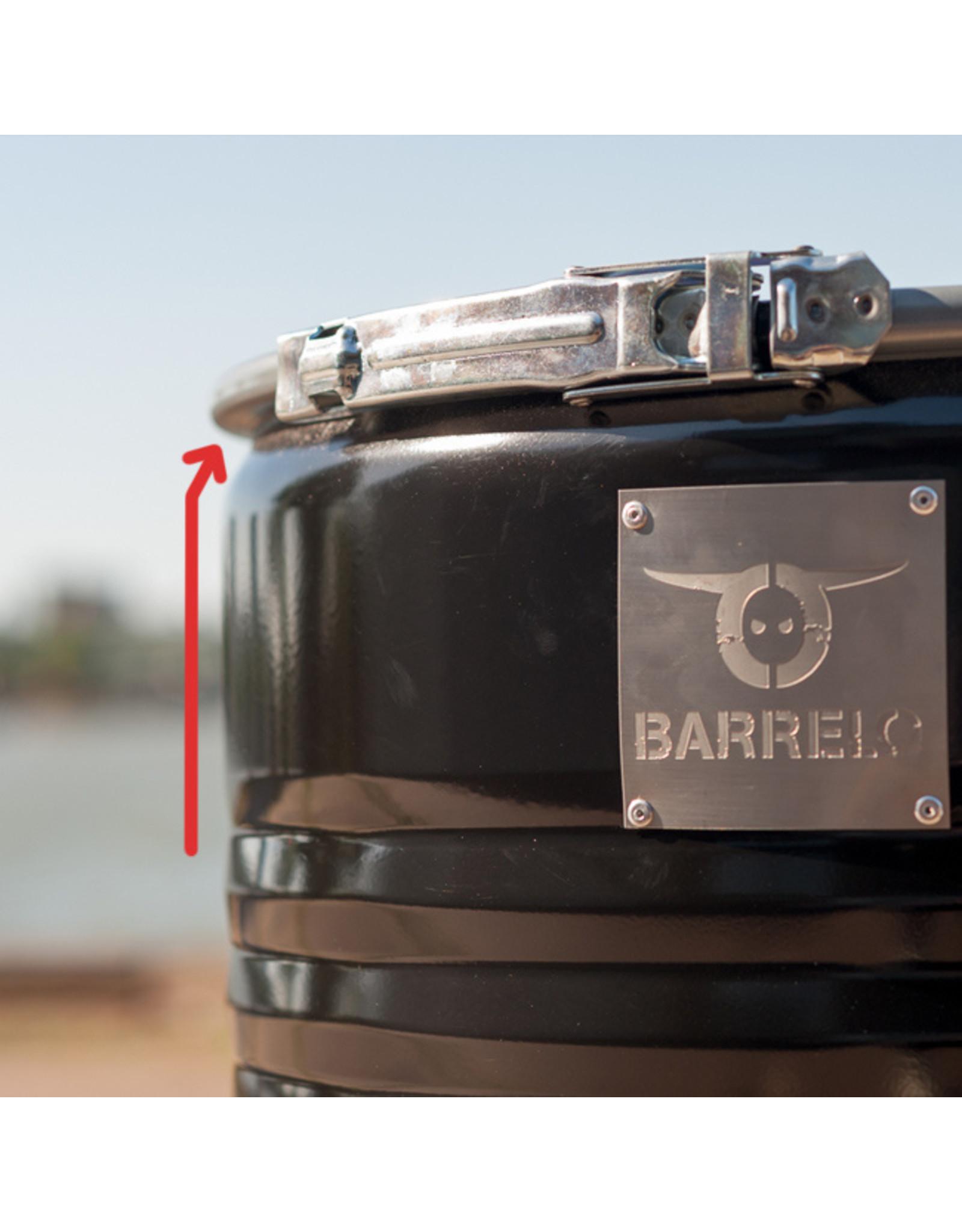 BarrelQ Grillkorb und Grillrost 200 Liter Ölfass (verengte Fassöffnung)