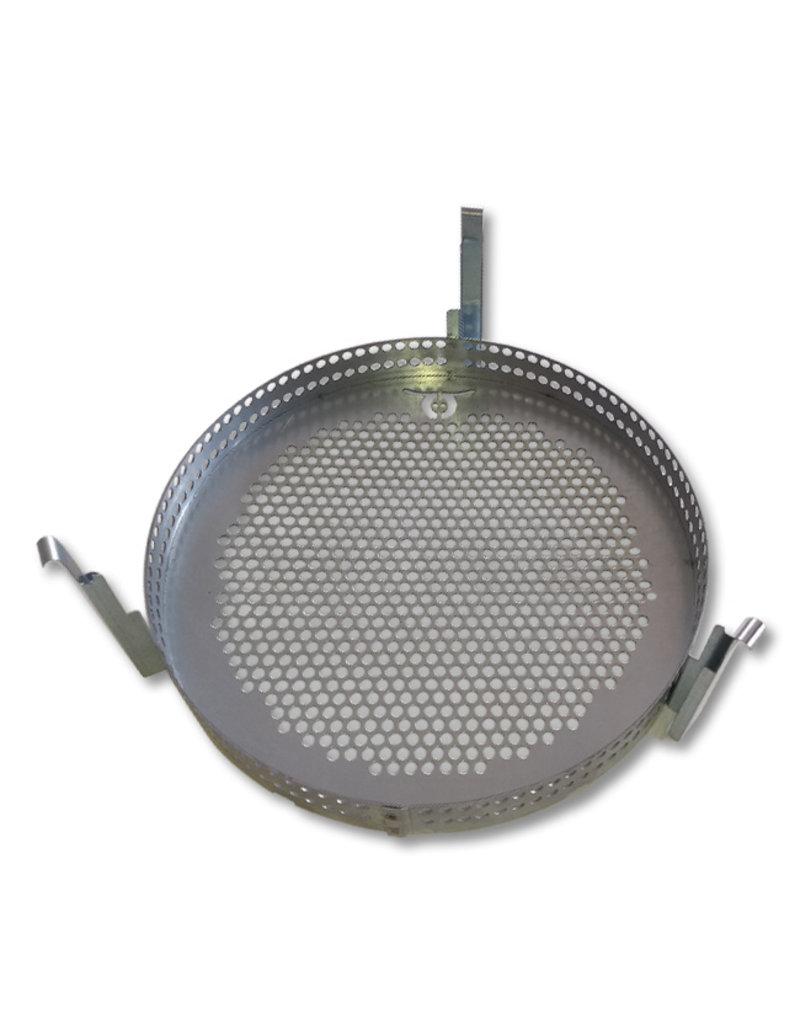 BarrelQ Grill basket and grillage 200-liter oil barrel