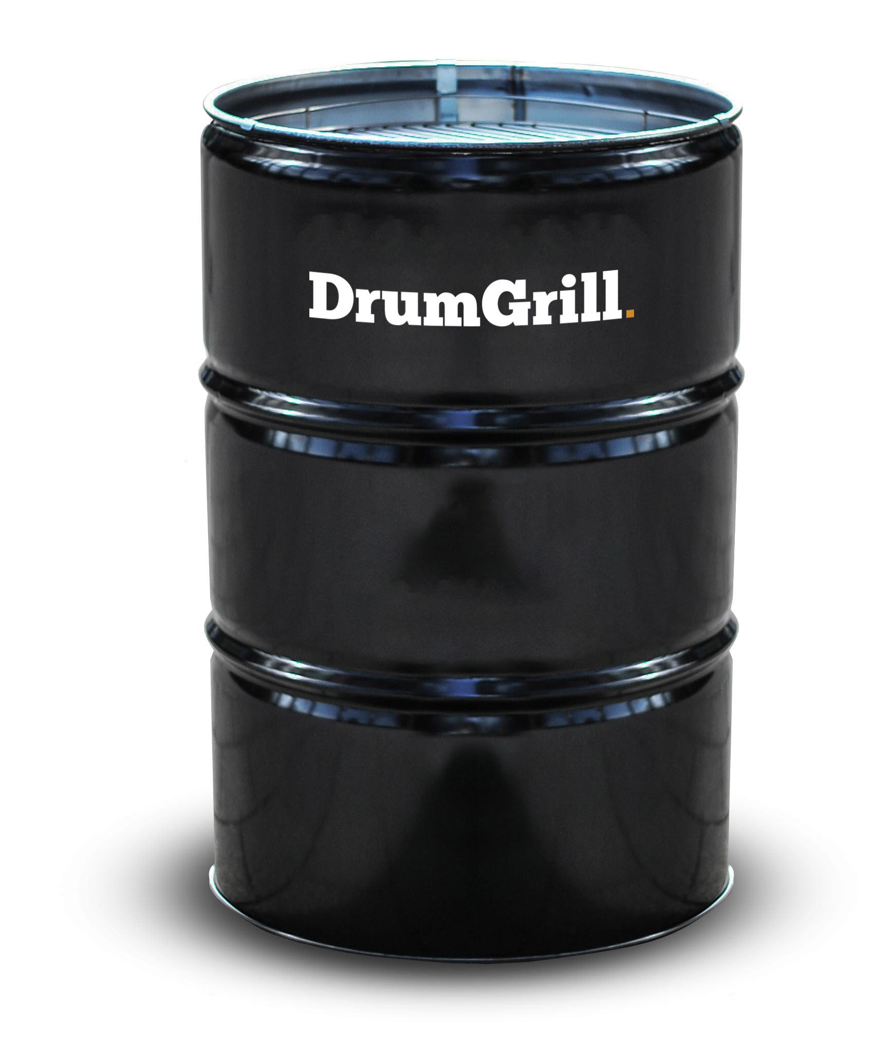 Drumgrill Drumgrill Big 200 Liter Barbecue, vuurkorf en statafel in n