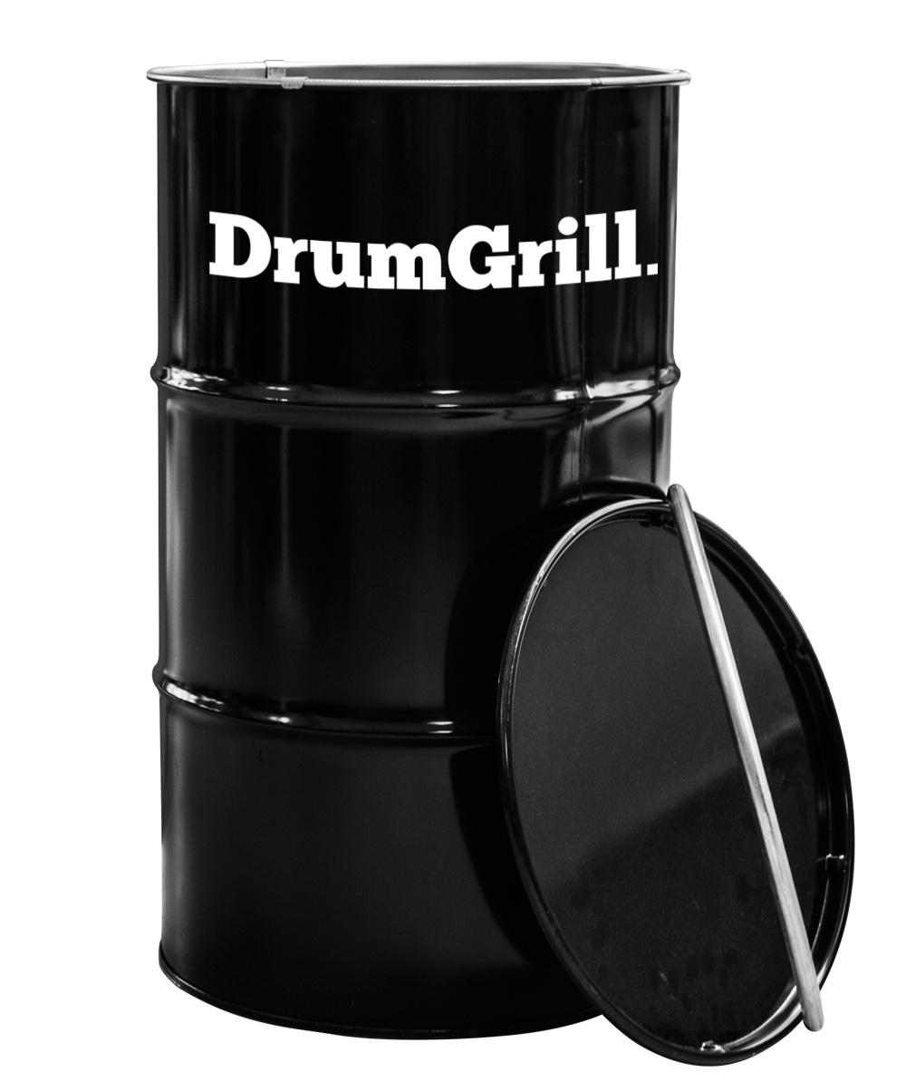 Drumgrill Drumgrill Medium 120 Liter Barbecue, vuurkorf en statafel in n