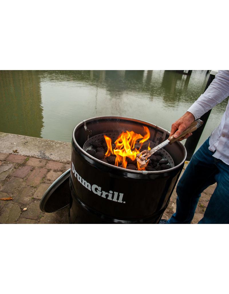 Drumgrill Drumgrill Big 120 Liter Barbecue, vuurkorf en statafel in één
