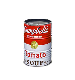 Barrelkings Barrelkings  200 Liter olievat met Campbell's Soup