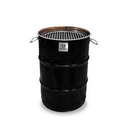 BarrelQ BarrelQ Small Holzkohlegrill- Feuerstelle und Tischplatte+ Schutzhülle