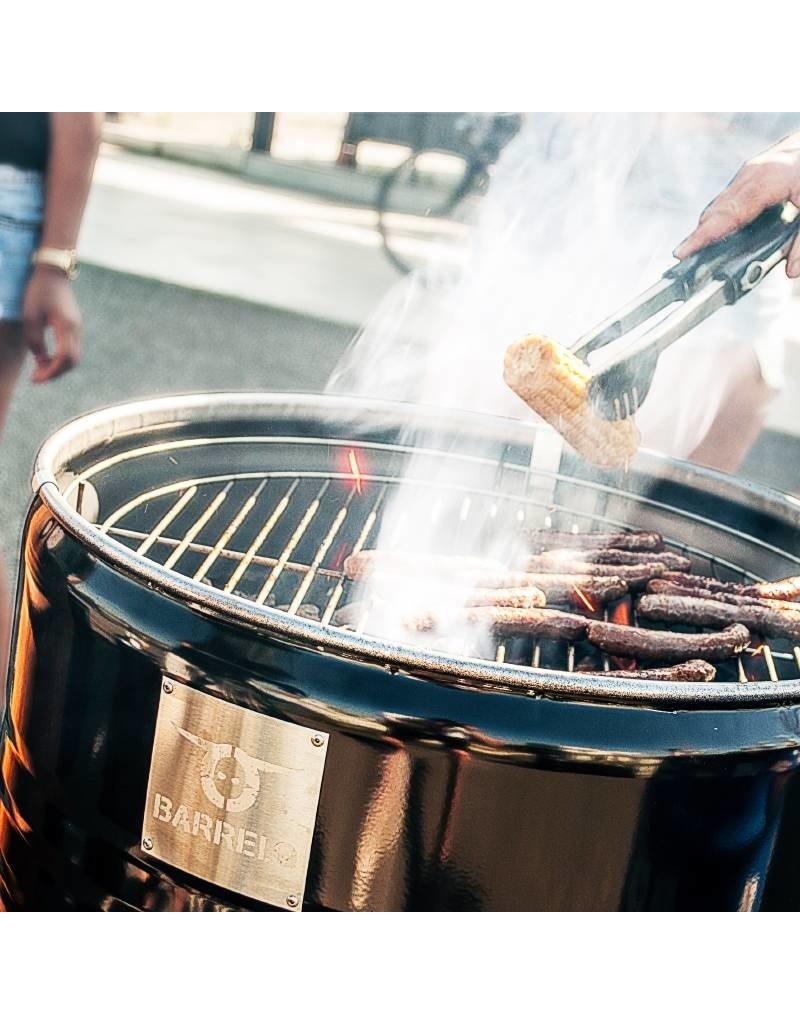 BarrelQ BarrelQ Small zwart 60 Liter Barbecue, vuurkorf en statafel in één