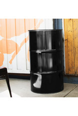 The Binbin BinBin Handle 120 Liter waste bin oildrum with handle lid