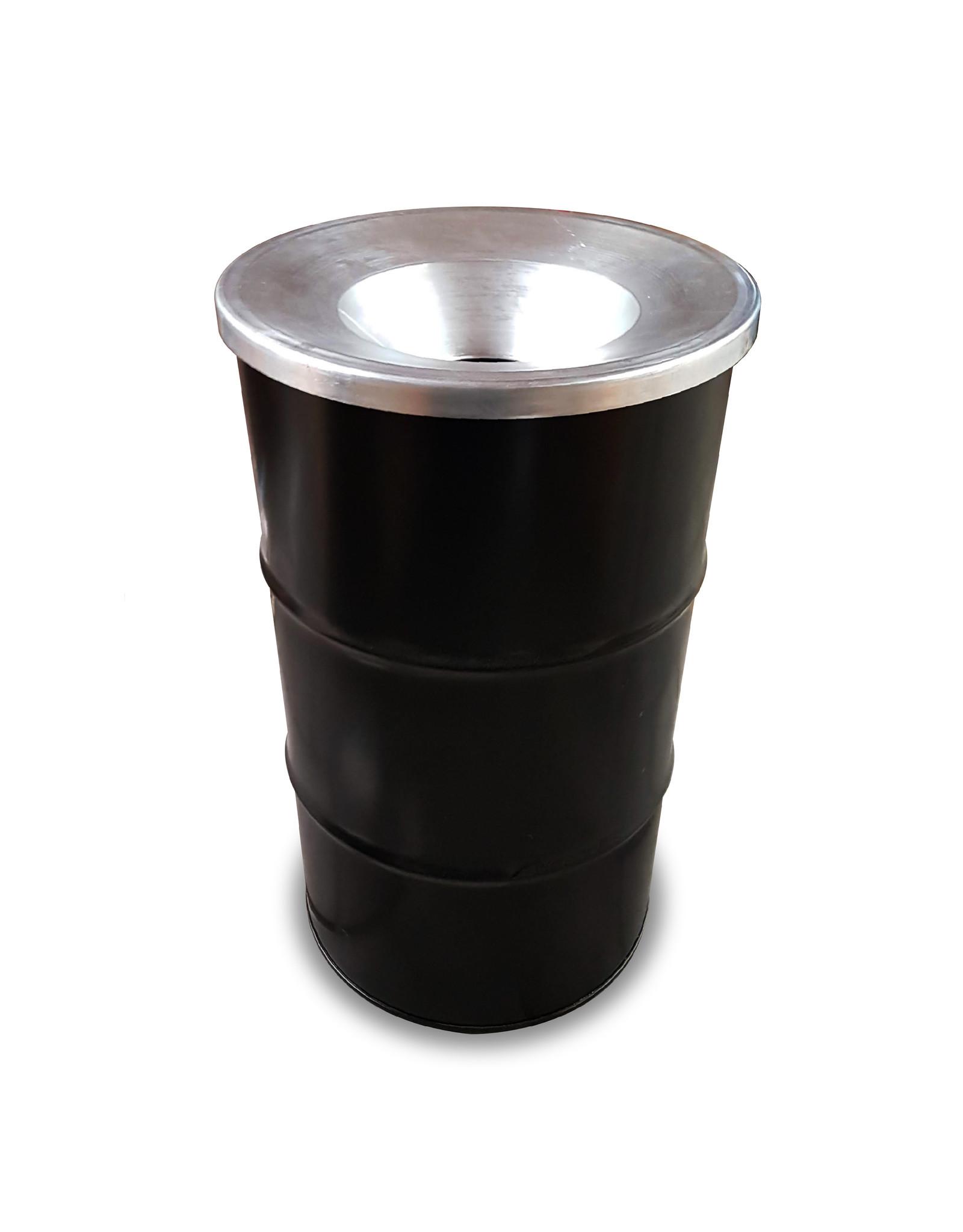 The Binbin  BinBin industrial rubbish metal bin- 120L with flame-retardant lid
