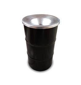 BinBin BinBin Flame 120L Industriële prullenbak- olievat met vlamwerenddeksel