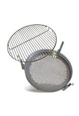 BarrelQ Mand en grill voor Big Ingesnoerd