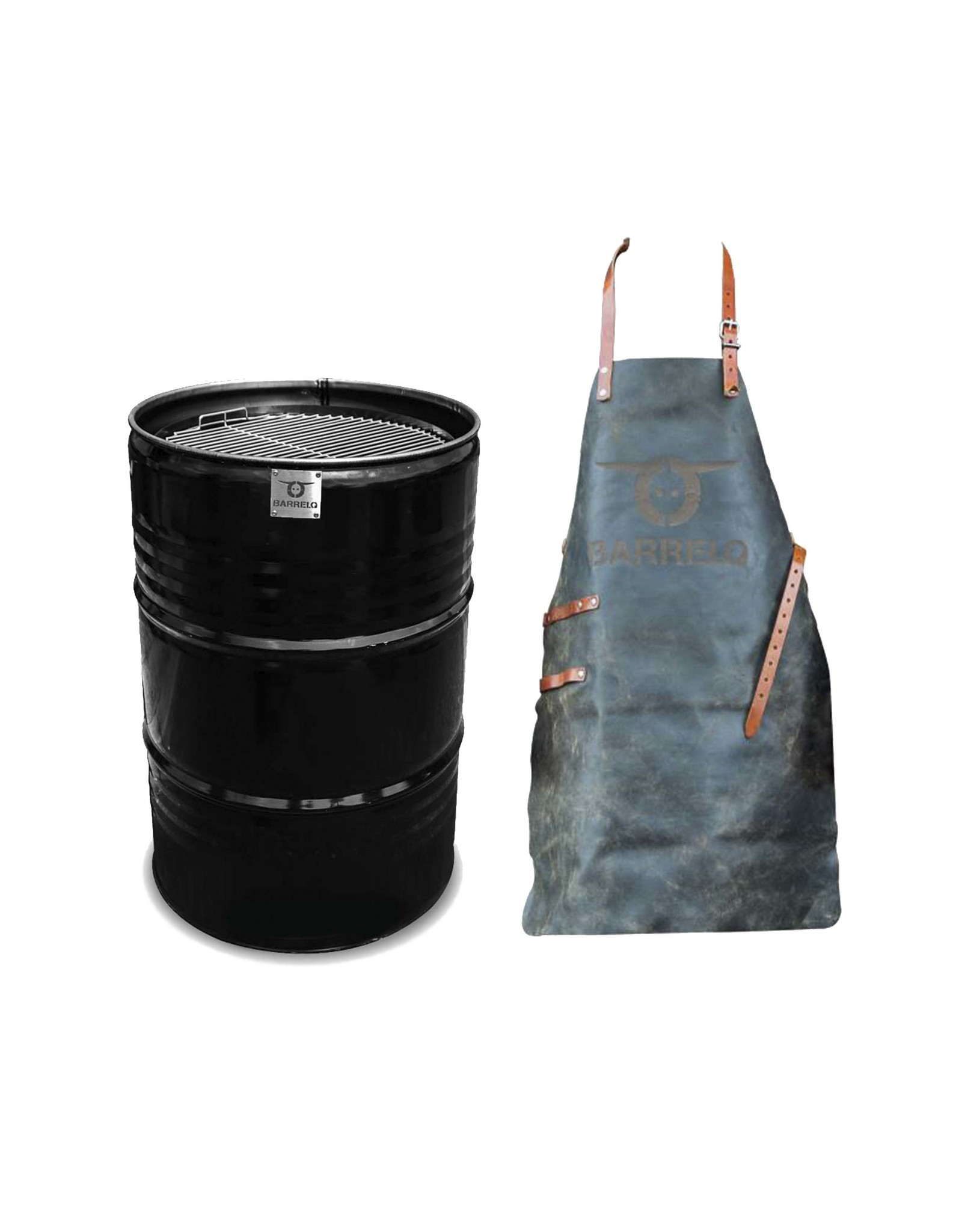 BarrelQ   BarrelQ Grill Big Original plus Grillschürze