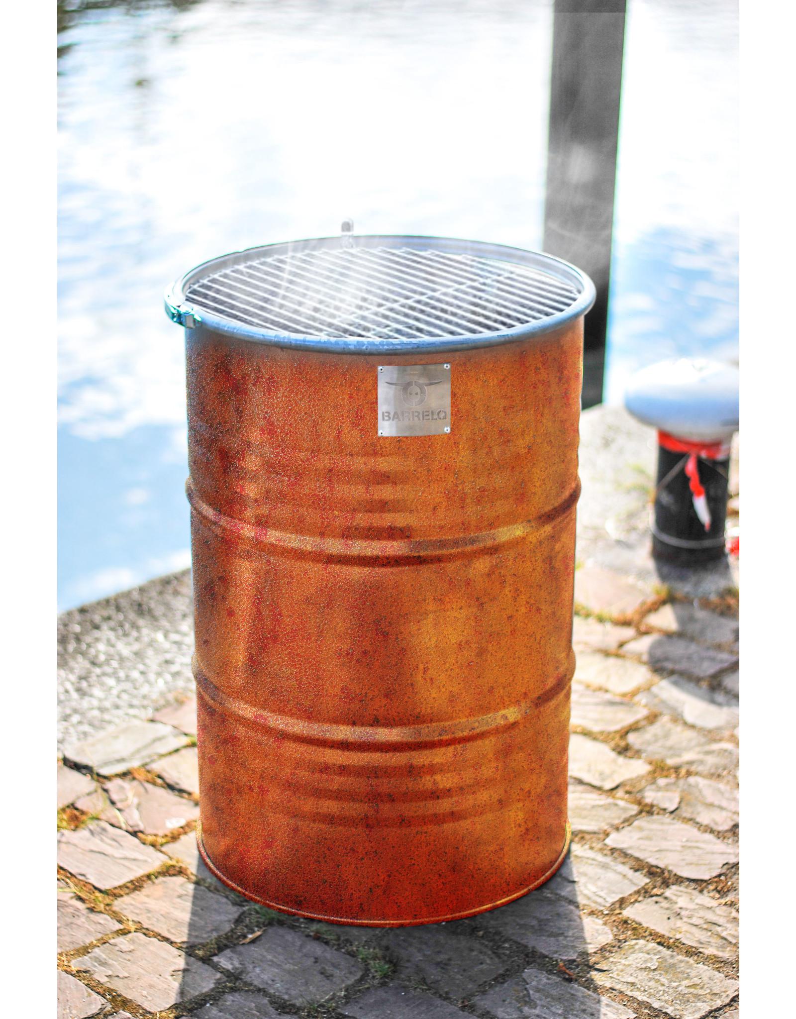 BarrelQ Notorious Big barbecue Cortensteel 200 L