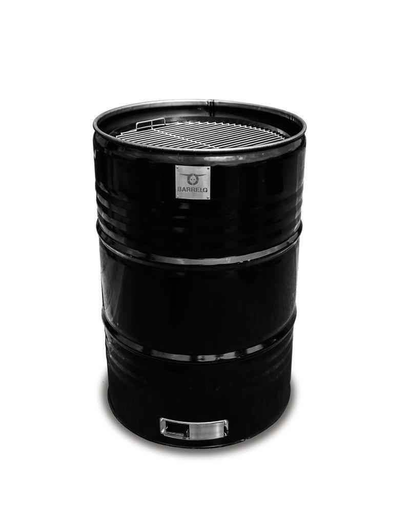 BarrelQ BarrelQ Big Notorius zwart 200 Liter Barbecue, vuurkorf en statafel in één