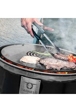 CombiDeal BarrelQ Notorious Big barebecue Cortensteel 200 L with Teppanyaki plate