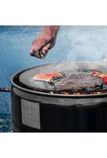 CombiDeal BarrelQ Notorious Big Corten Staal met Teppanyaki plaat