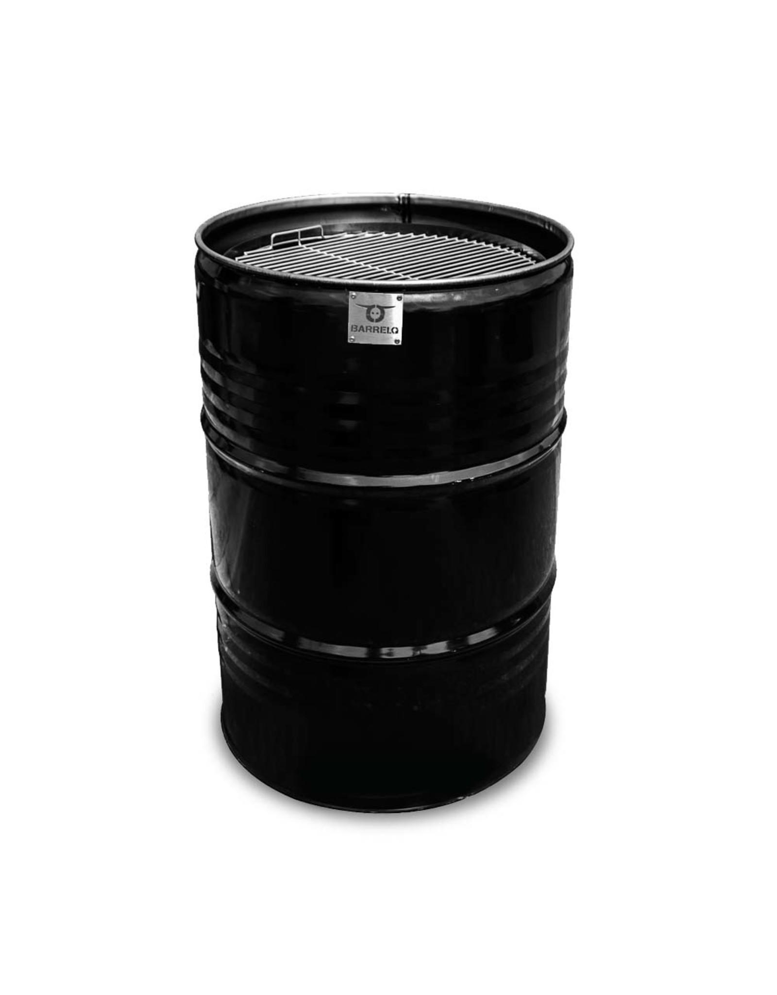 CombiDeal BarrelQ Big black 200 Liter Barbecue Teppanyaki Plate and BarrelQ Big Cover