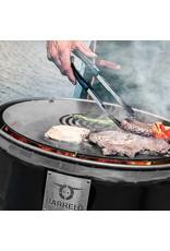 BarrelQ BarrelQ Big Holzkohlegrill mit Teppanyaki Platte und Abdeckung groß