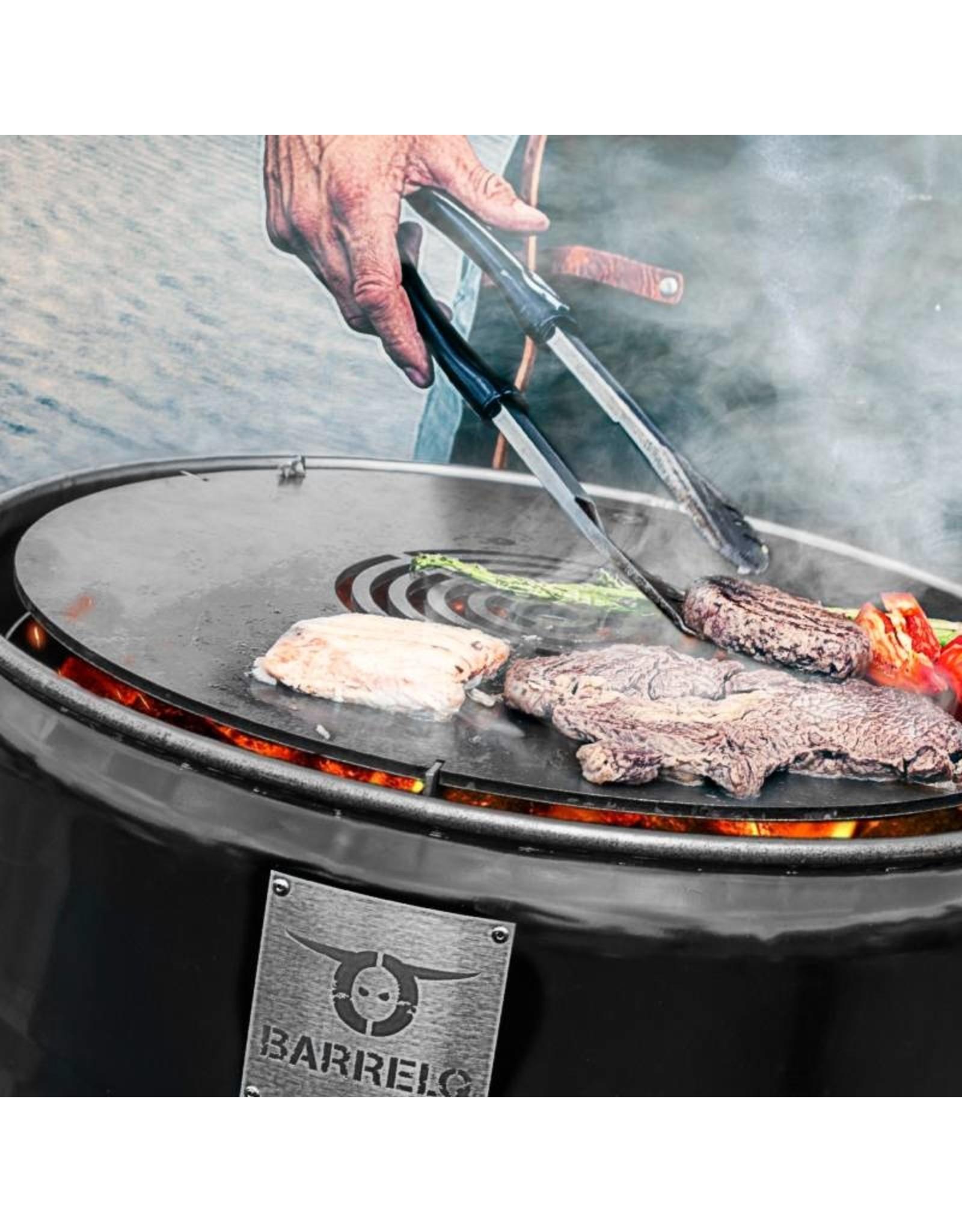 BarrelQ BarrelQ Big barbecue deal- met Teppanyaki plaat en beschermhoes
