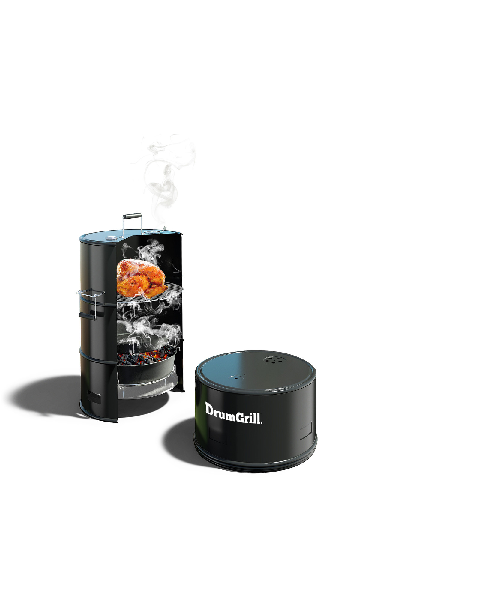DrumGrill Drumgrill Smoker barbecue