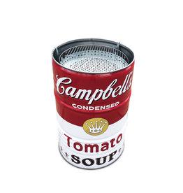 Barrelkings Campbell's Soup 200 L Holzkohlegrill, Feuerstelle, und Tischplatte