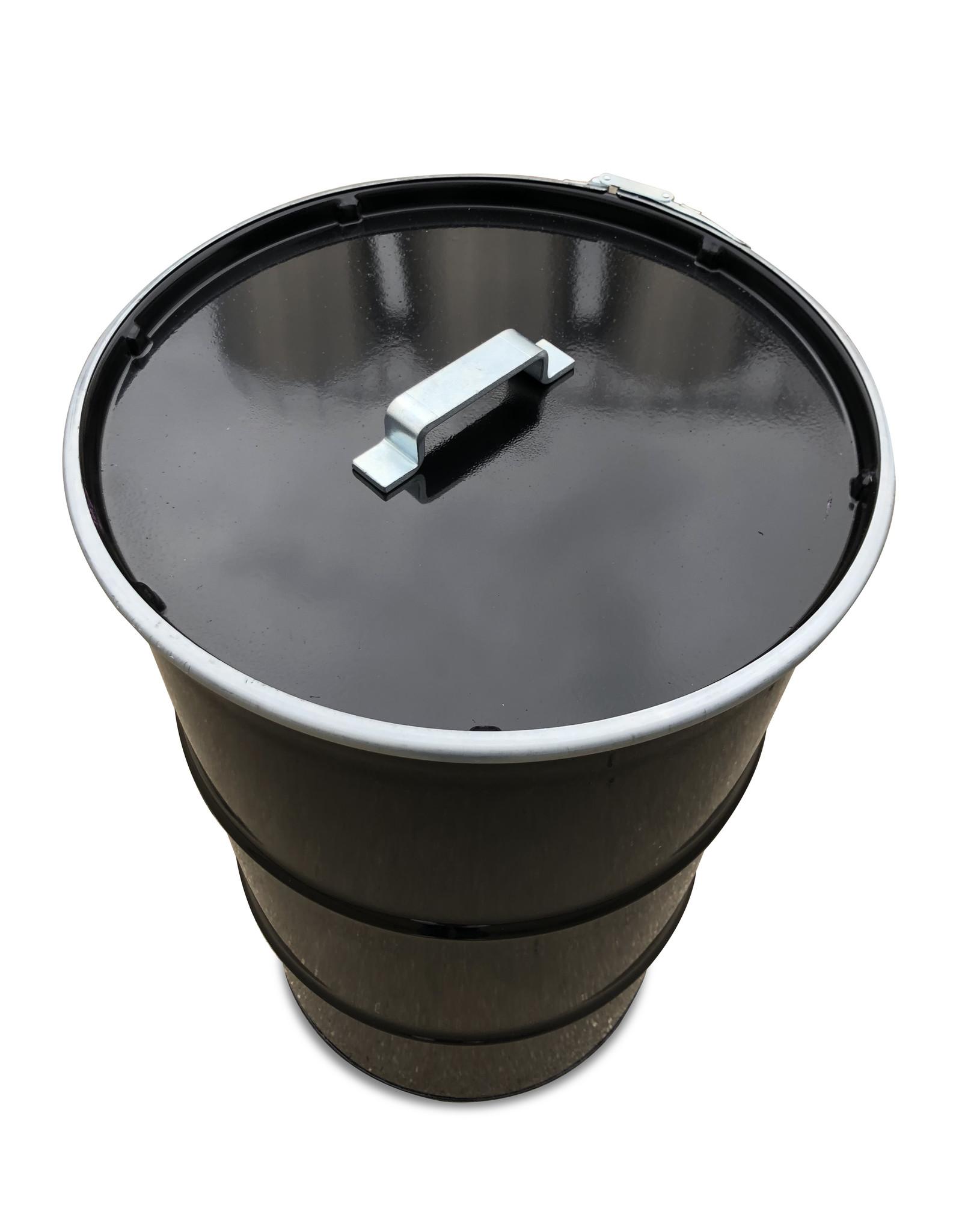 The Binbin BinBin Handle zwart- prullenbak 120 Liter  met deksel en handvat