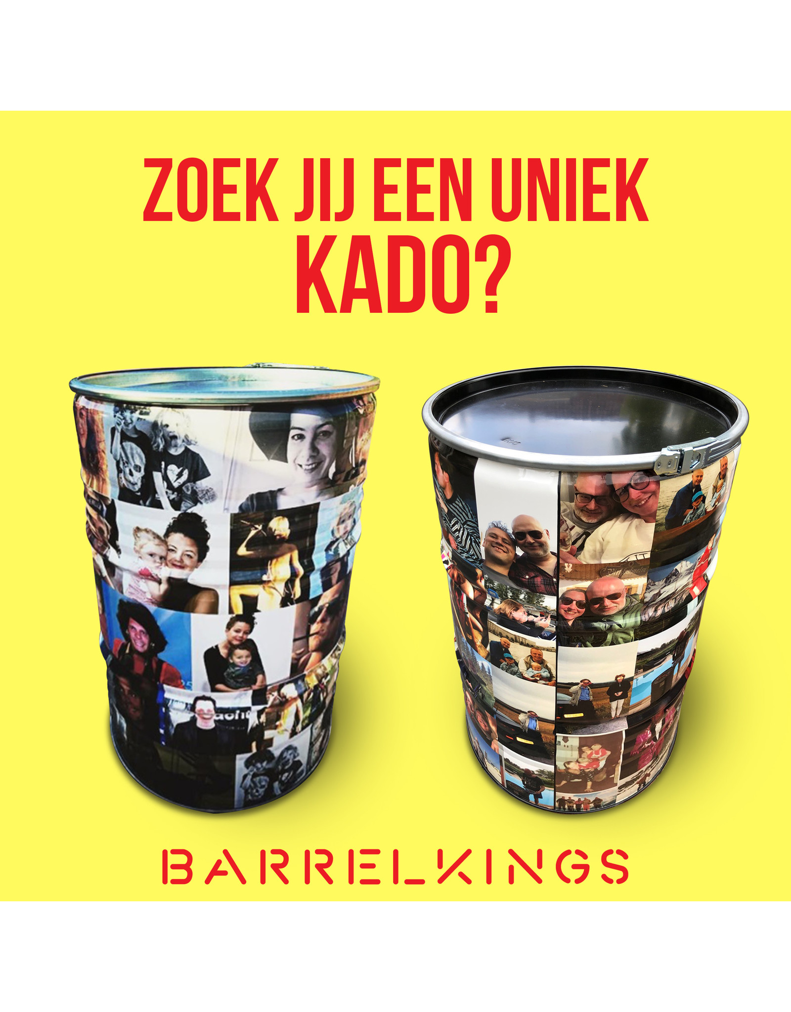 Barrelkings Photo Barrel 200 liter oildrum