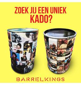 Barrelkings Foto barrel 200 L vat gewrapt