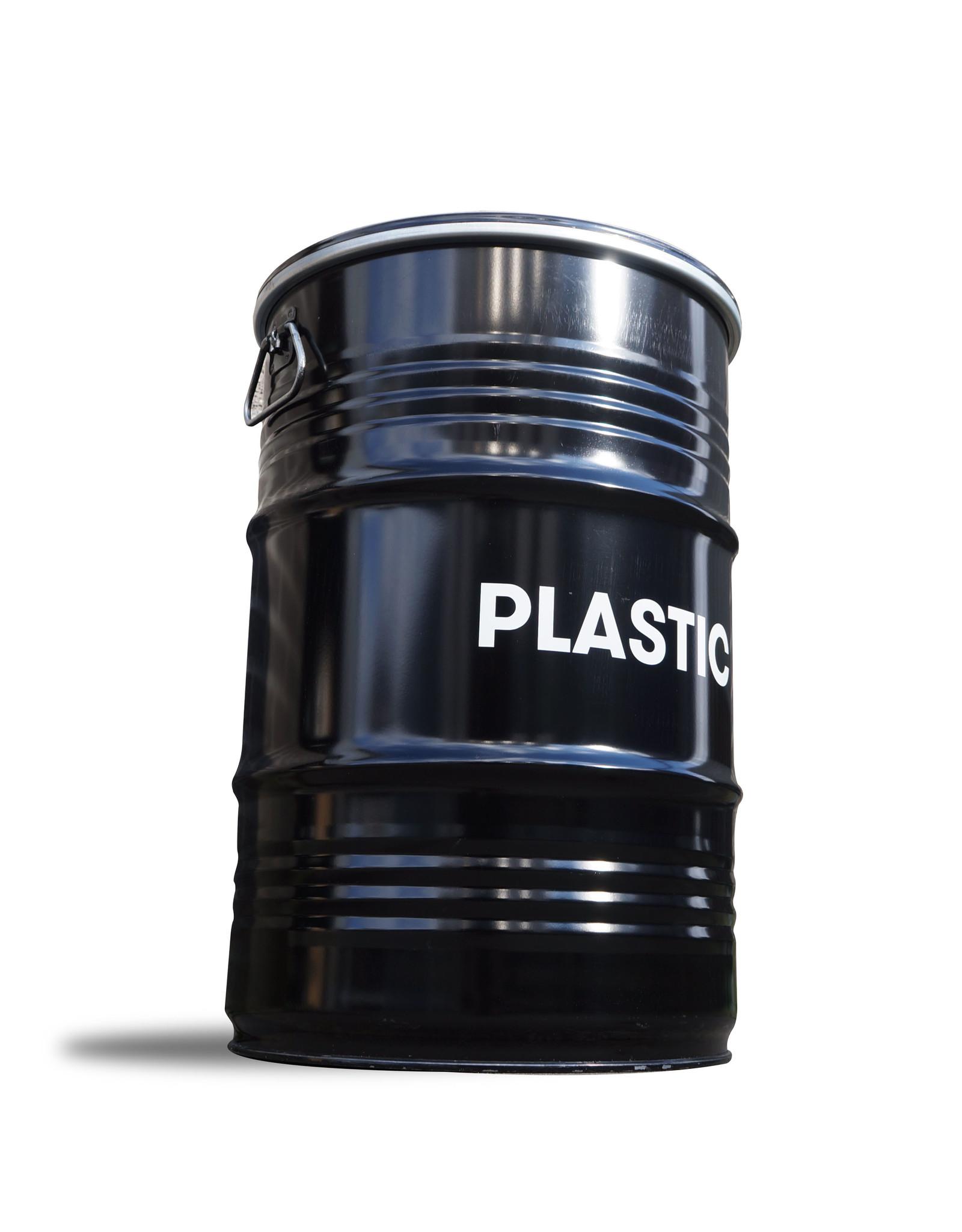 The Binbin BinBin Handgriff Plastik industrieller Mülleimer 60 L mit Deckelgriff