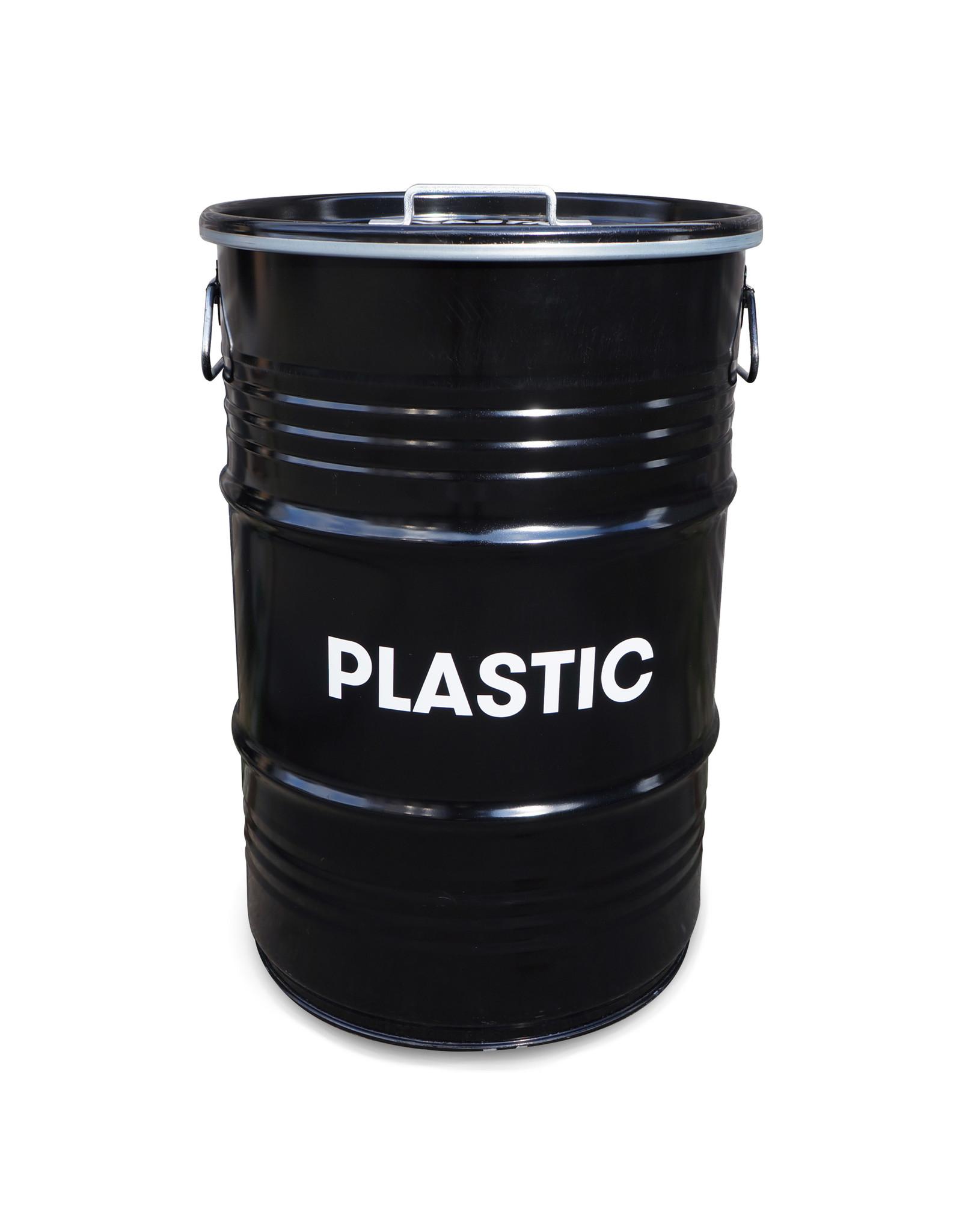 The Binbin BinBin Handle Plastic Industriële prullenbak afvalscheiding 60L