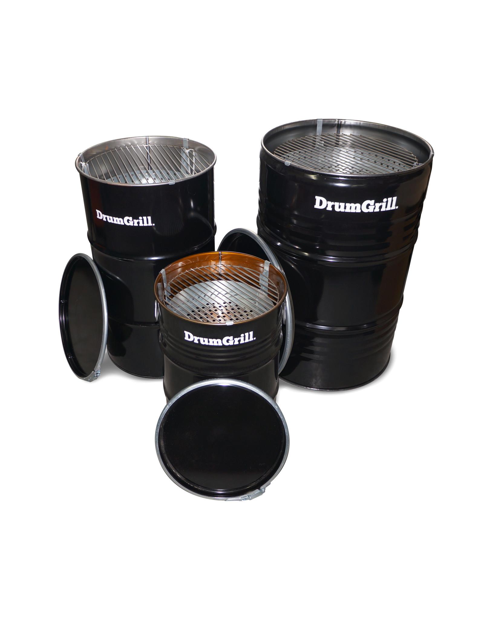 DrumGrill Drumgrill Small 60 Liter Holzkohlegrill, Feuerstelle, und Tischplatte