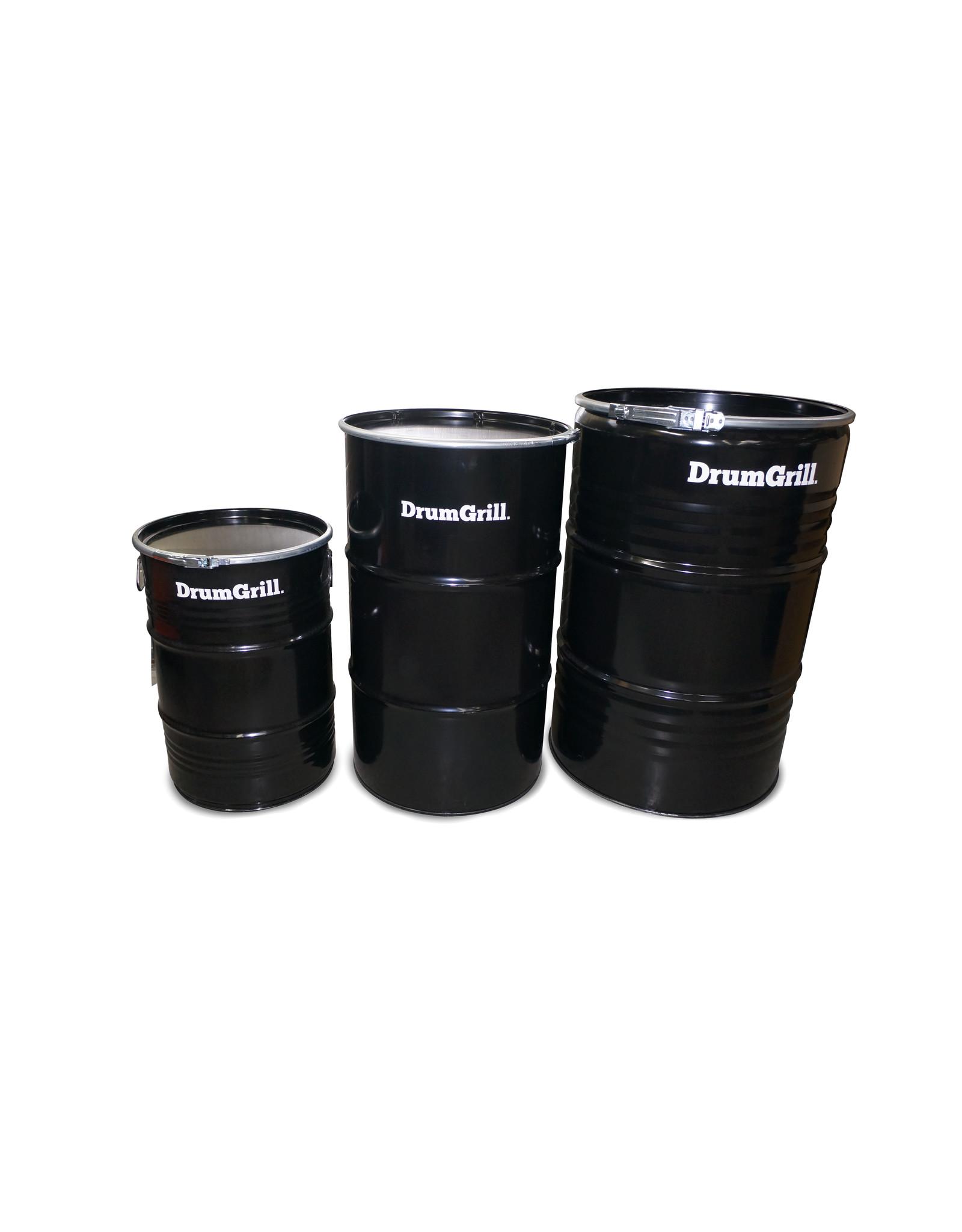 DrumGrill Drumgrill Medium 120 Liter Barbecue, vuurkorf en statafel in één