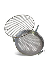 BarrelQ BarrelQ Small oildrum Grill- Firepit- sidetable in one included cover