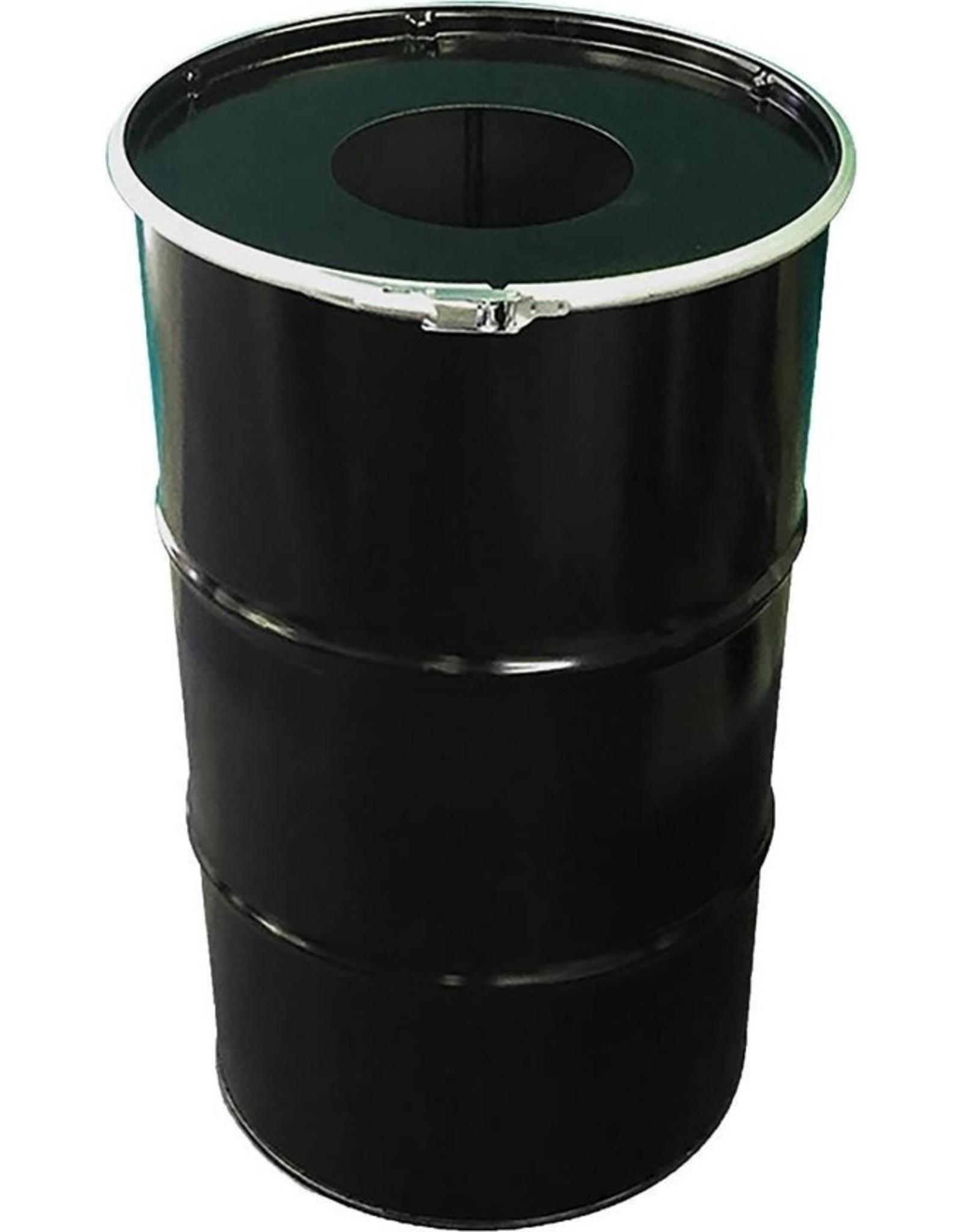 The Binbin BinBin Hole Industriële prullenbak 120 Liter met gat in deksel