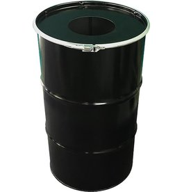 BinBin BinBin Hole wastebin 120 Liter oildrum with hole lid
