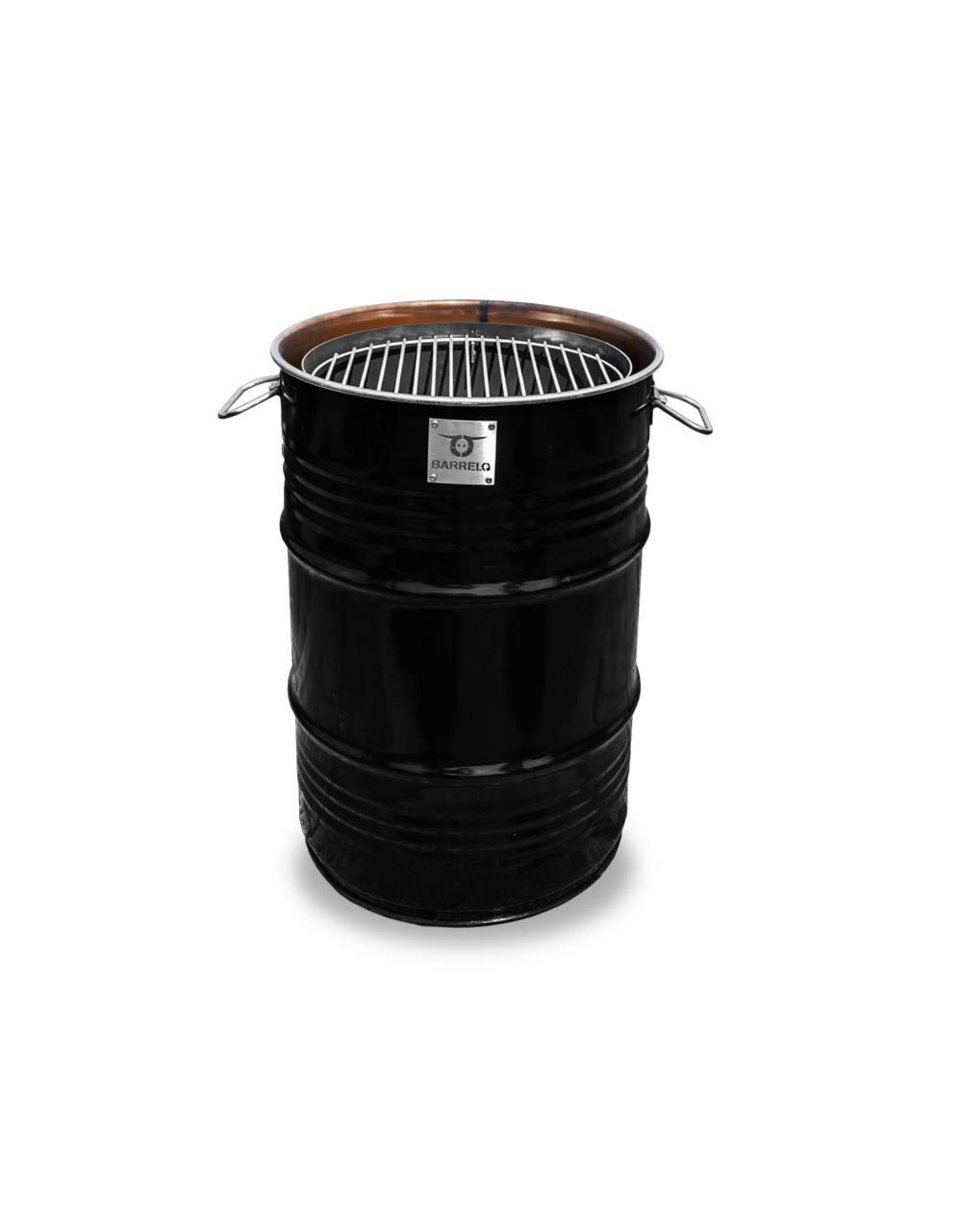BarrelQ BarrelQ Small Notorius zwart 60 Liter Barbecue, vuurkorf en statafel in n