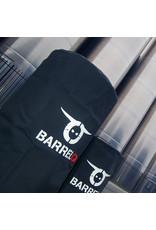 BarrelQ Der BarrelQ Big Holzkohlegrill-Feuerstelle und Tischplatte+Schutzhülle