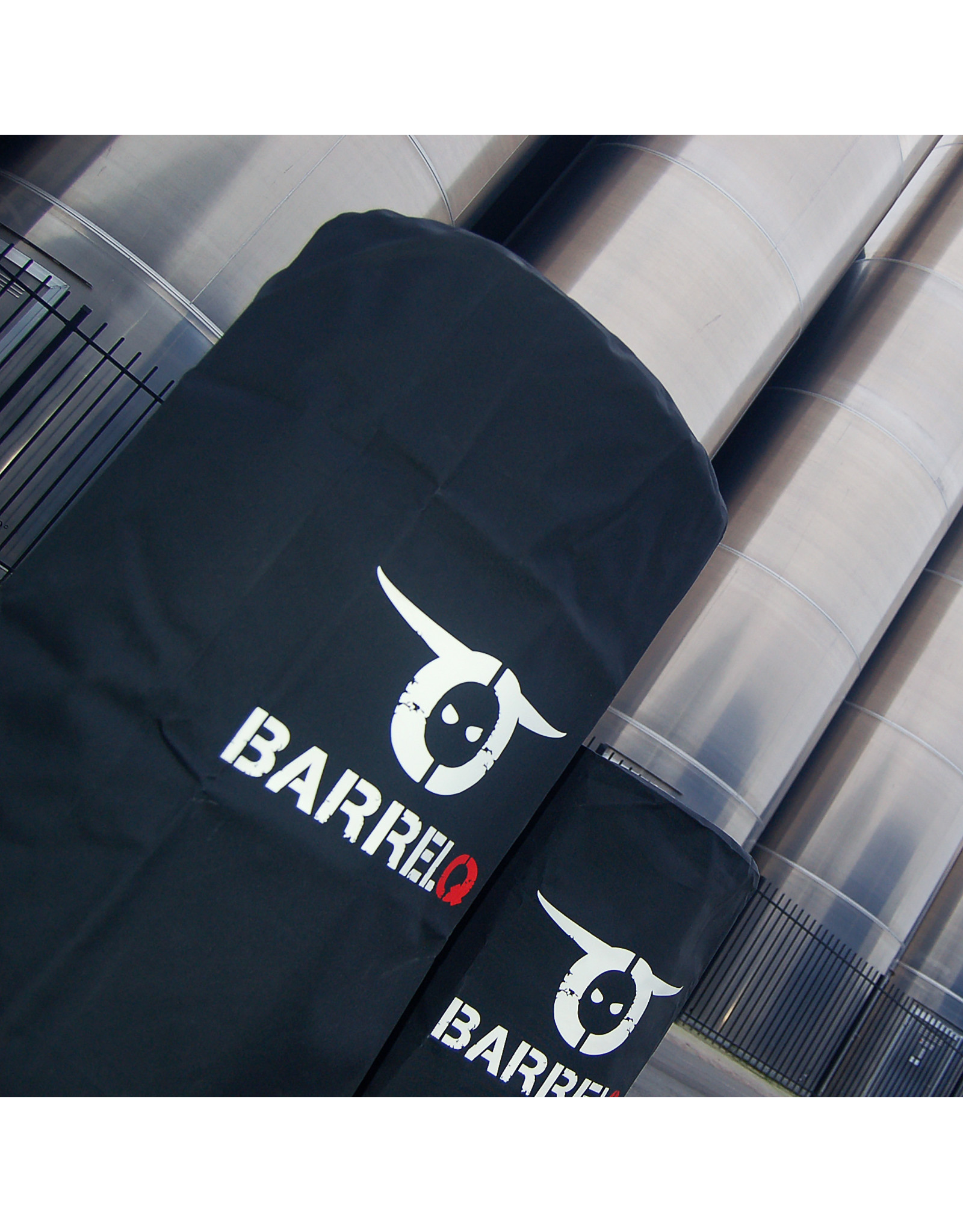 BarrelQ BarrelQ Big Barbecue, firepit and table in one + cover