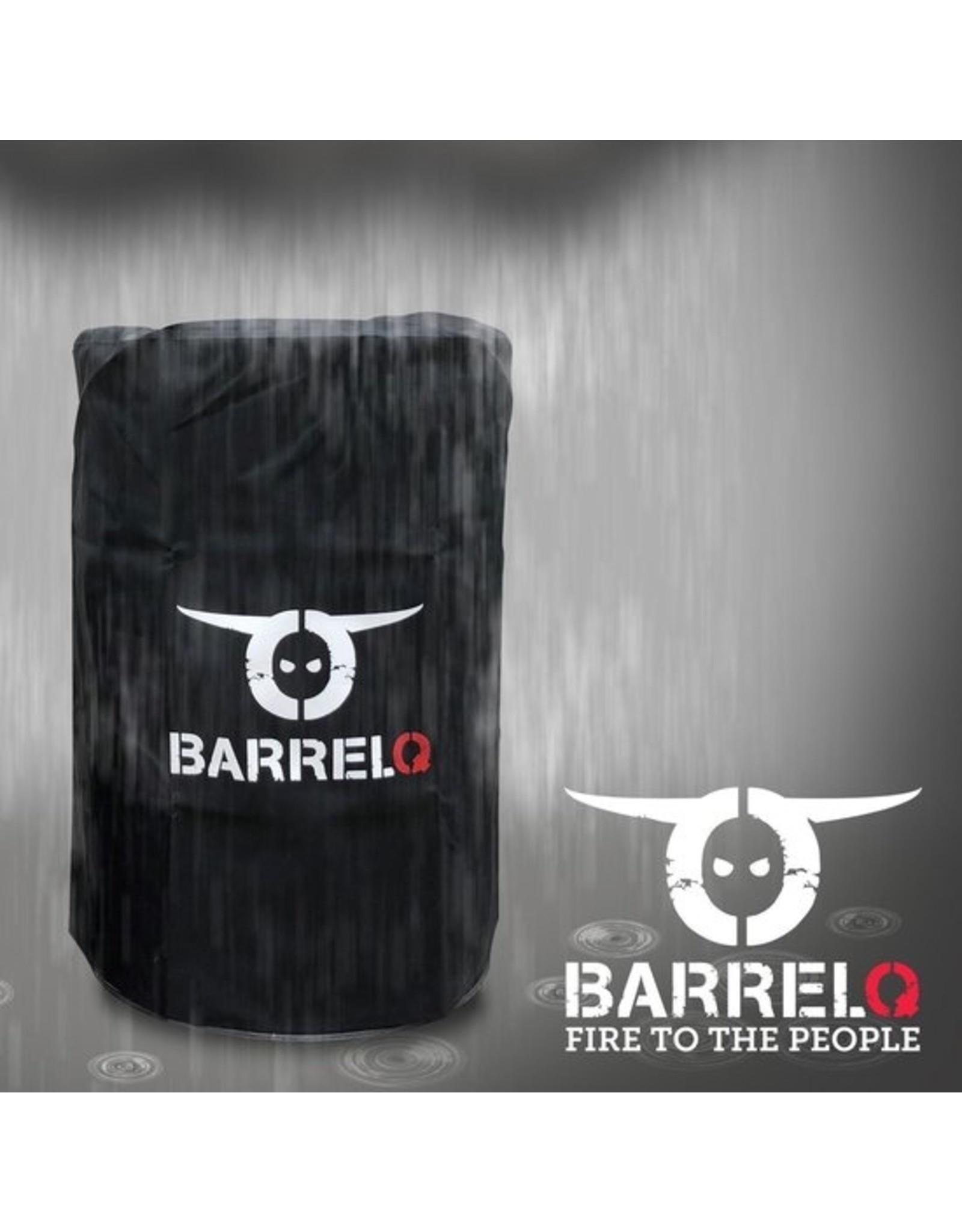 BarrelQ BarrelQ Small Barbecue, vuurkorf en statafel in één incl. beschermhoes