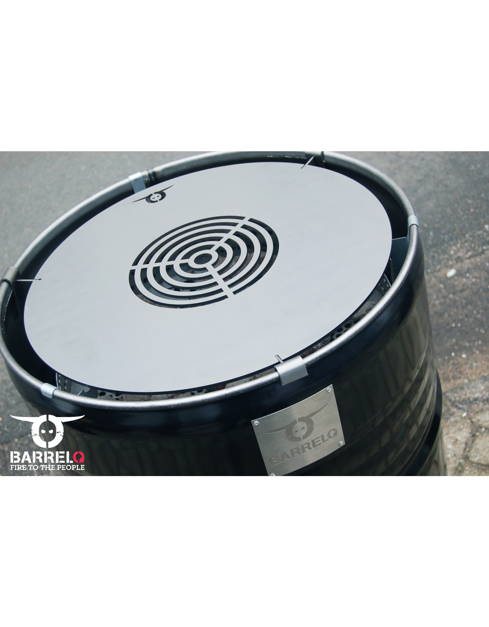 BarrelQ Teppanyaki grill-kookplaat add-on BarrelQ BIG barbecue
