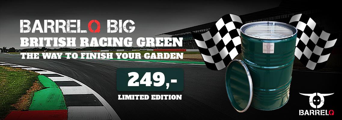 BarrelQ BIG British Racing Green