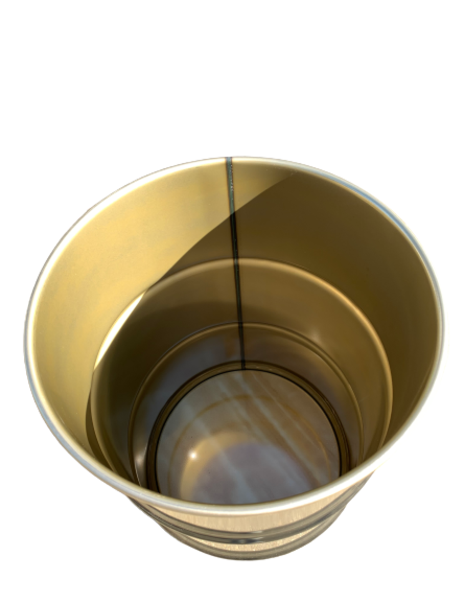 Barrelkings Barrelkings- industrieel metalen plantenbak 60 L olievat