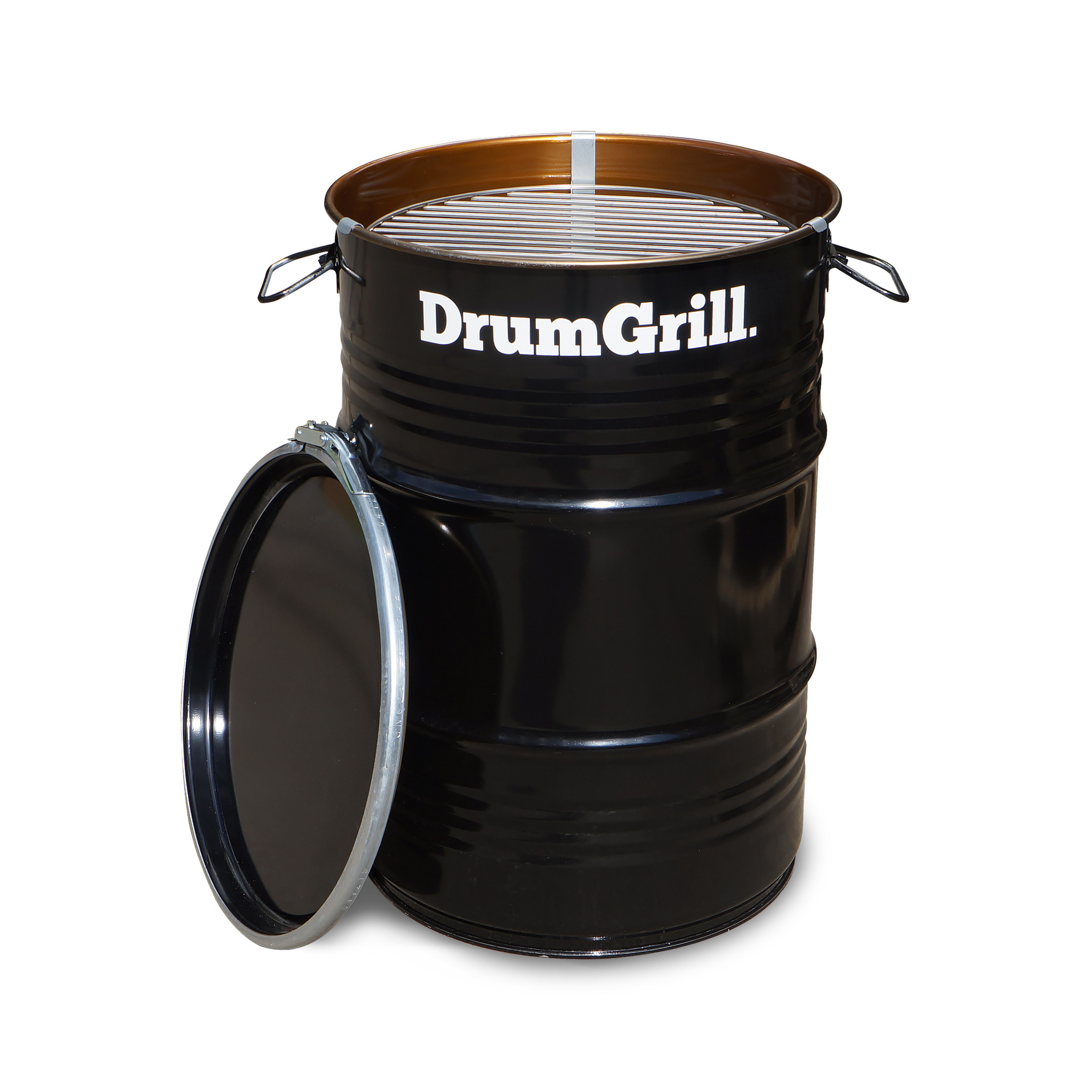 DrumGrill Drumgrill Small 60 Liter Barbecue, vuurkorf en statafel in n