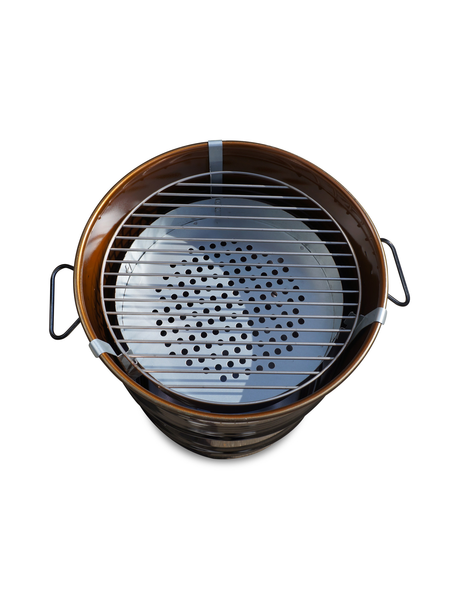 DrumGrill Drumgrill Small 60 Liter Barbecue, firepit and table in one